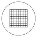 MA510日本MEIJI显微镜用目镜刻度片