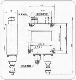YWK-50壓力控制器