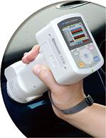 高精度分光测色计,柯尼卡美能达彩屏色差仪,便携式分光测色仪