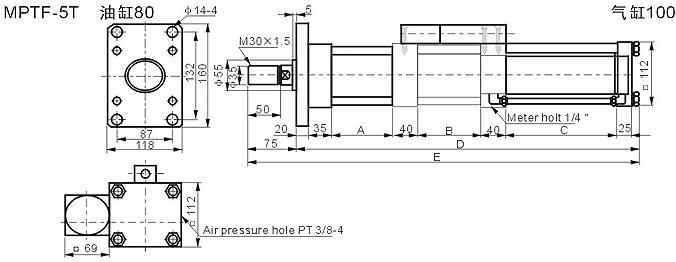 产品[mptf系列气液增压缸 ]资料