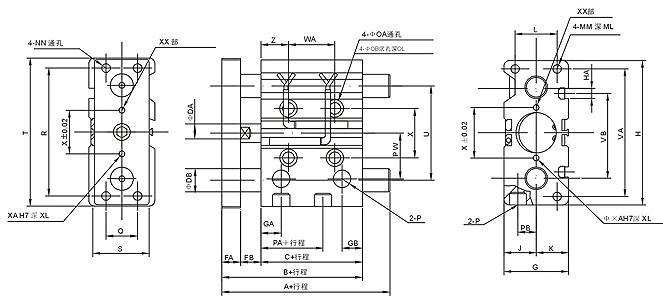 10个气缸电路连接图