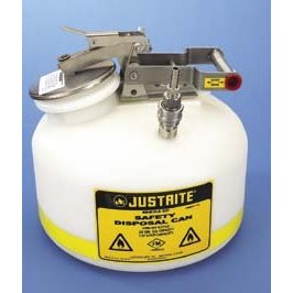 Centura Prefabricated Quick-Disconnect Safety Disposal Cans, Oval Safety Disposal Can, Justrite