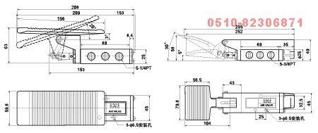 ST-403A    ST-403     ST-402A     ST-402     脚踏阀
