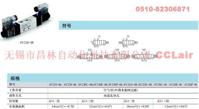 4V230P-08  4V230-08C  4V230-08E    4V230-08P    電磁閥