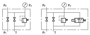 蓄能器安全阀组 AJS-32H1-B AJS-32H2-B