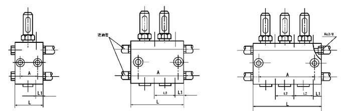 SGQ-33    SGQ-63S  SGQ-43   SGQ-83S  双线给油器