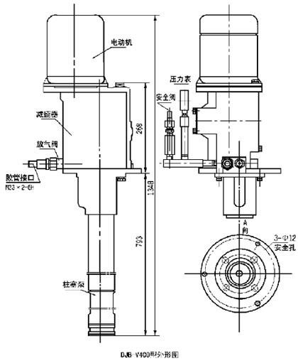 DJB-V400   电动加油泵