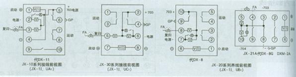 该产品由分立元件和小型继电器等构成.