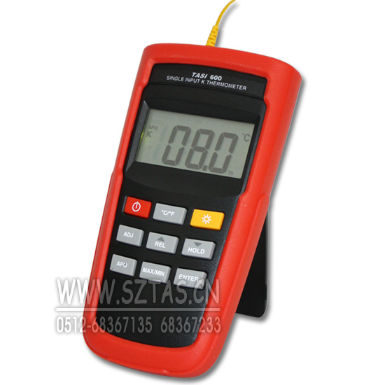 供应tasi-600 k型数字温度计 k型温度计