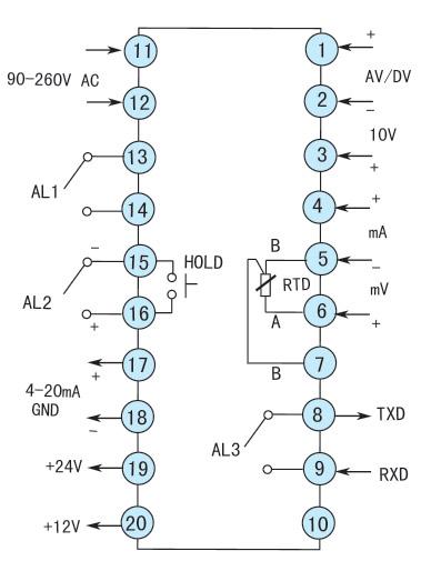 意量程的交直流电压/电流