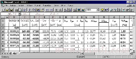 钢丝绳检测数据分析软件