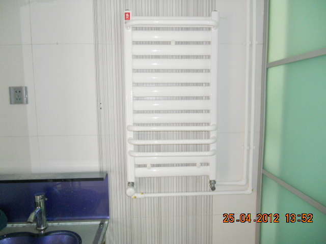 三林世博家园明装暖气片安装图片高清图片