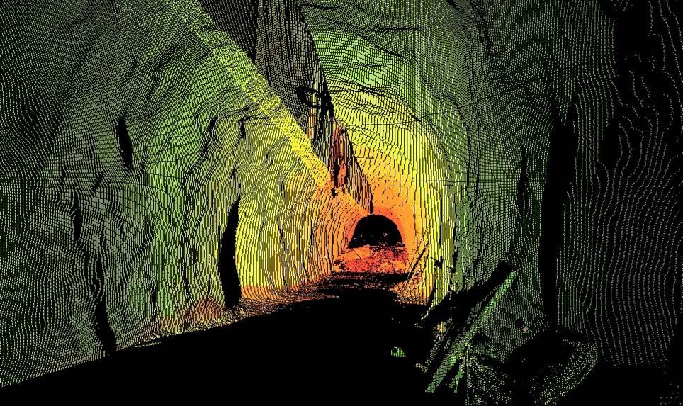 隧道三维设计图