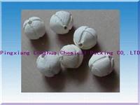 沟槽开孔高效瓷球 Φ6-75