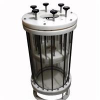 高压水冷夹套玻璃 层析柱(可配)定制非标 层析柱配件