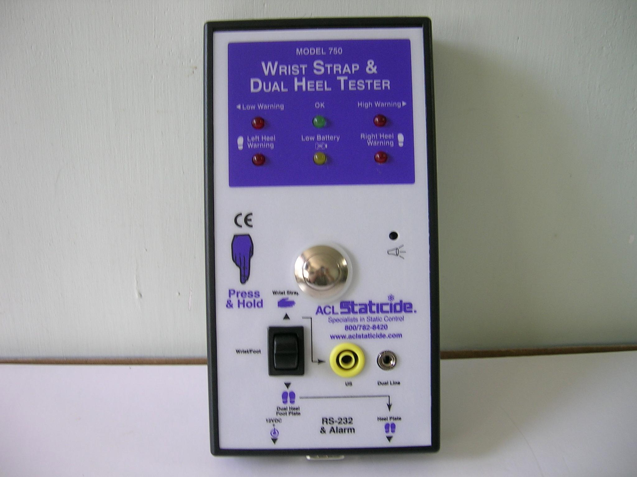 ACL-750人体静电检测仪图片