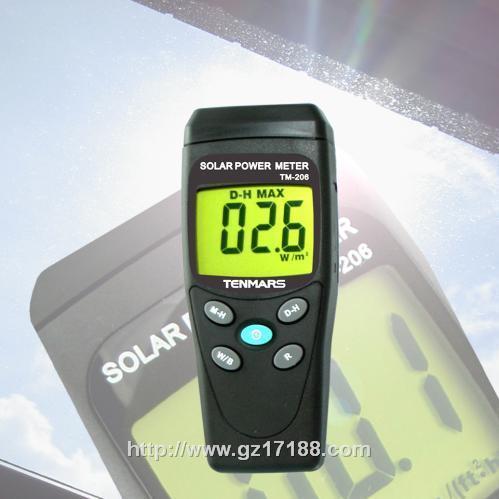 太阳能功率表TM-206