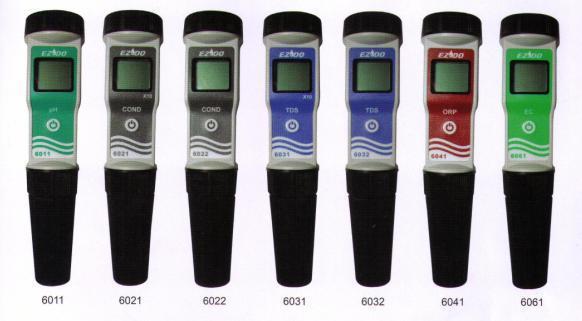 PH/电导/TDS测试笔EZDO-6011/6021/6022/ 6031/6032