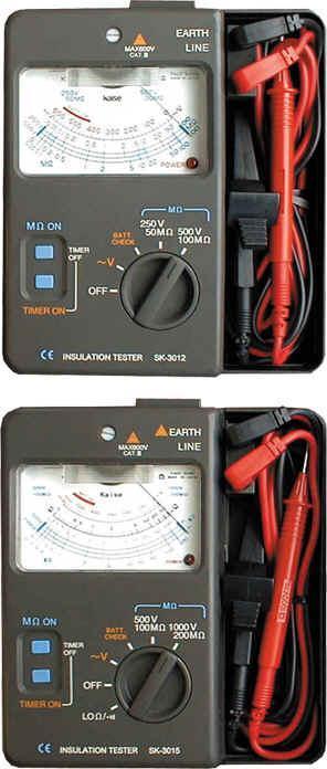 绝缘电阻测量仪sk-3315 sk-3315